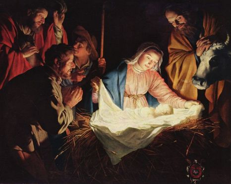 Adoration of the Shepherds by Gerard van Honthorst, 1622